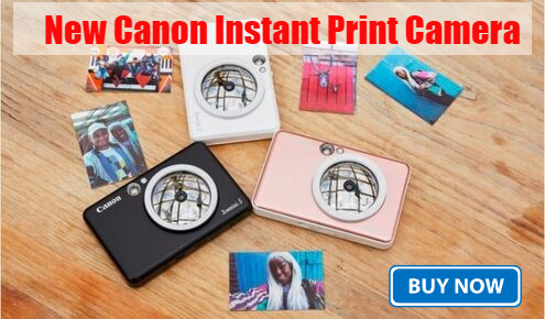 New Canon Instant Print Camera launched